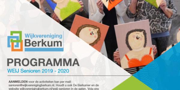 Weij Senioren: Verslagen En Programma 2019-2020