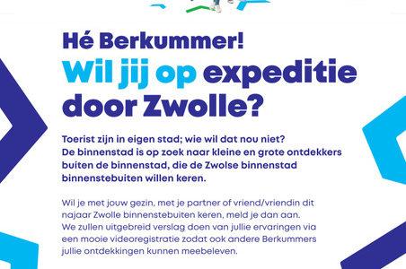 Binnenstad Zwolle Zoekt 'toeristen' Uit Berkum