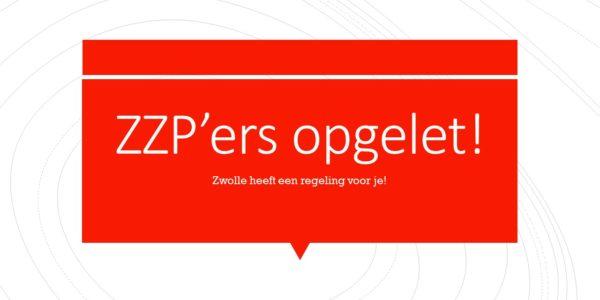 Bericht Voor ZZP'ers In O.a. Berkum